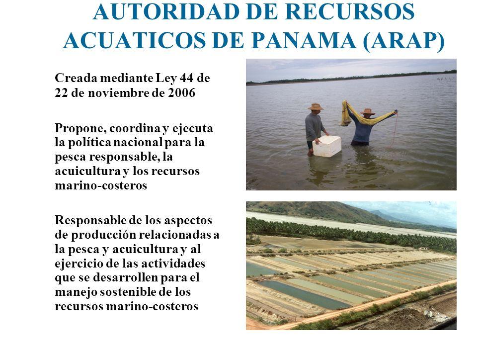 AUTORIDAD DE RECURSOS ACUATICOS DE PANAMA (ARAP)