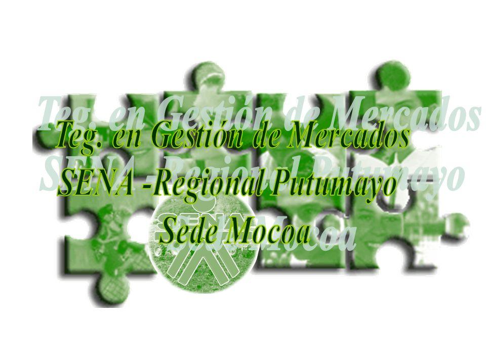 Teg. en Gestión de Mercados SENA -Regional Putumayo