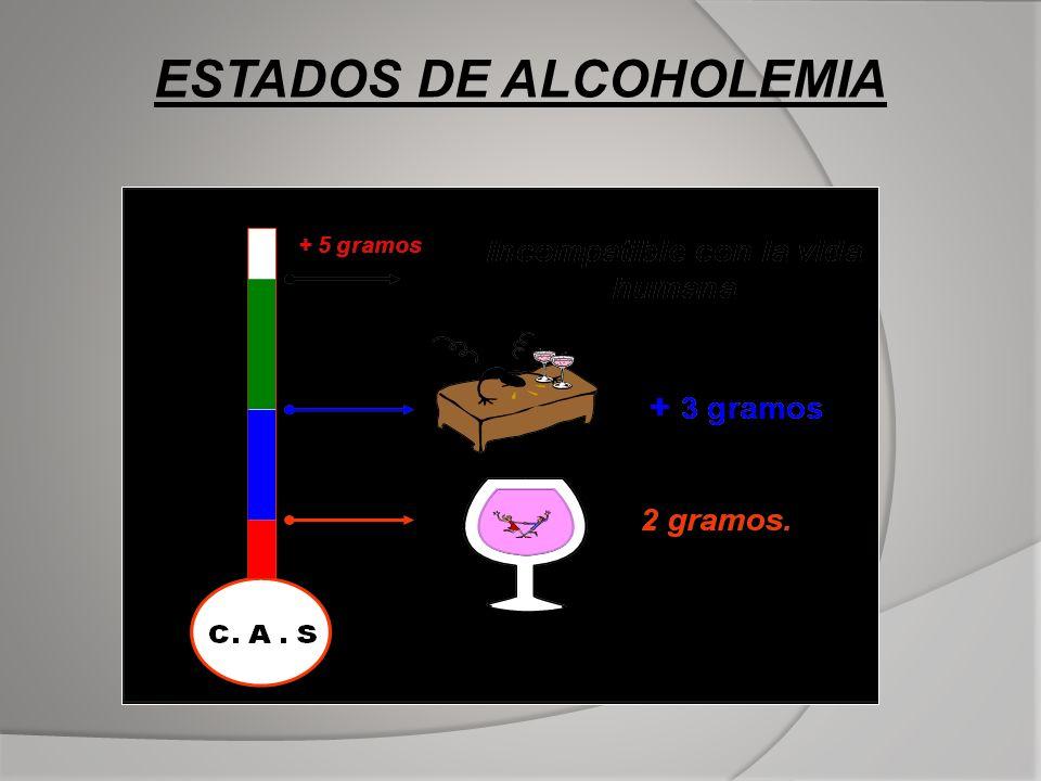 ESTADOS DE ALCOHOLEMIA