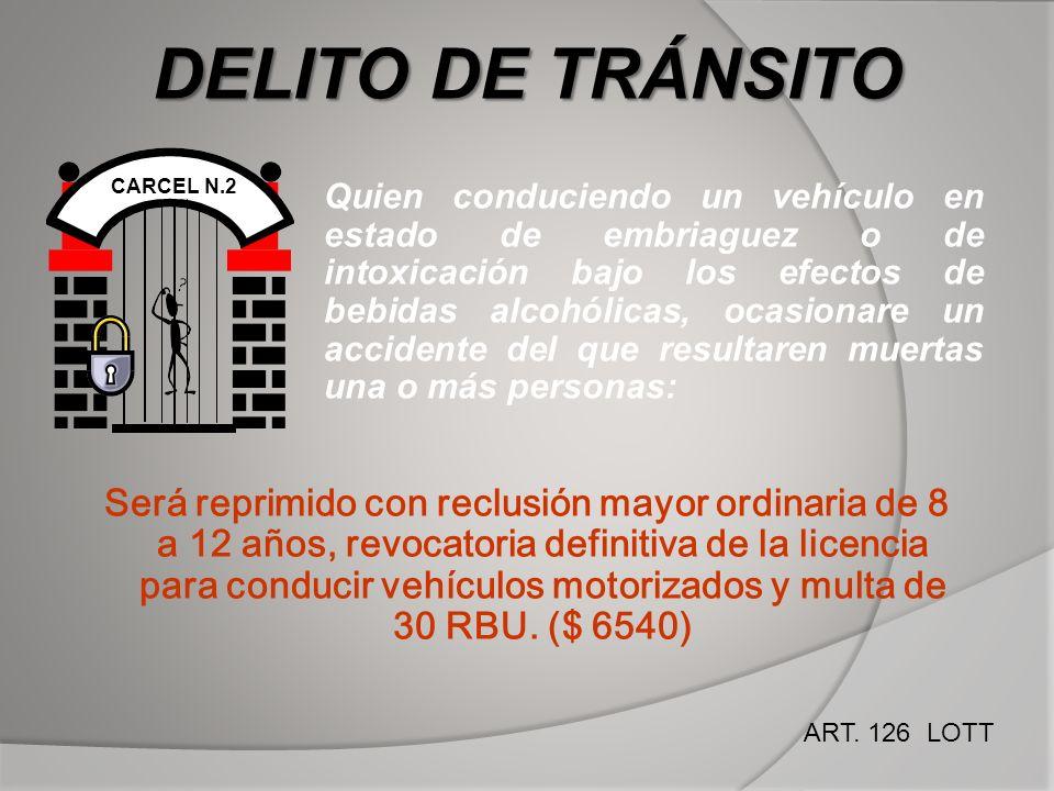 DELITO DE TRÁNSITO CARCEL N.2.