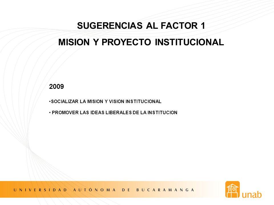 MISION Y PROYECTO INSTITUCIONAL