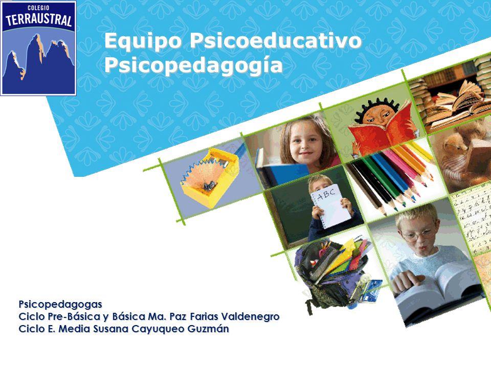 Equipo Psicoeducativo Psicopedagogía