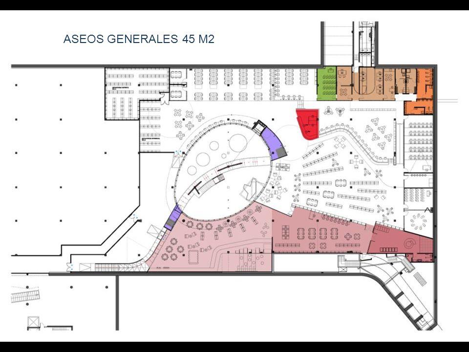 ASEOS GENERALES 45 M2