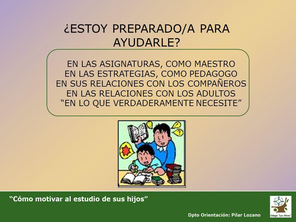 ¿ESTOY PREPARADO/A PARA AYUDARLE