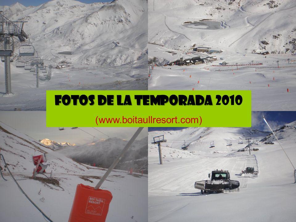 FOTOS DE LA TEMPORADA 2010 (www.boitaullresort.com)