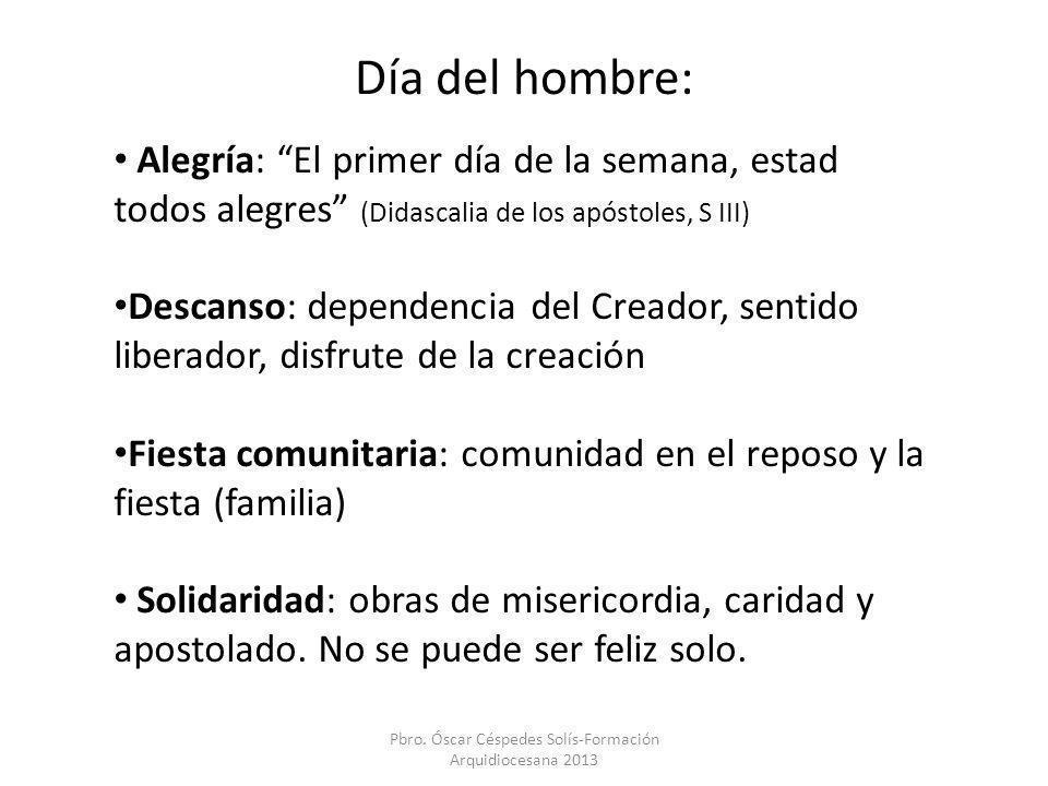 Pbro. Óscar Céspedes Solís-Formación Arquidiocesana 2013