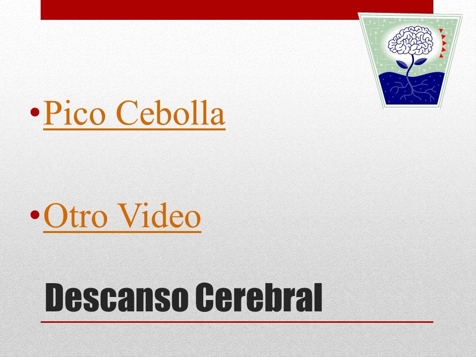 Pico Cebolla Otro Video Descanso Cerebral