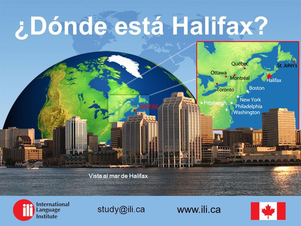 ¿Dónde está Halifax Vista al mar de Halifax