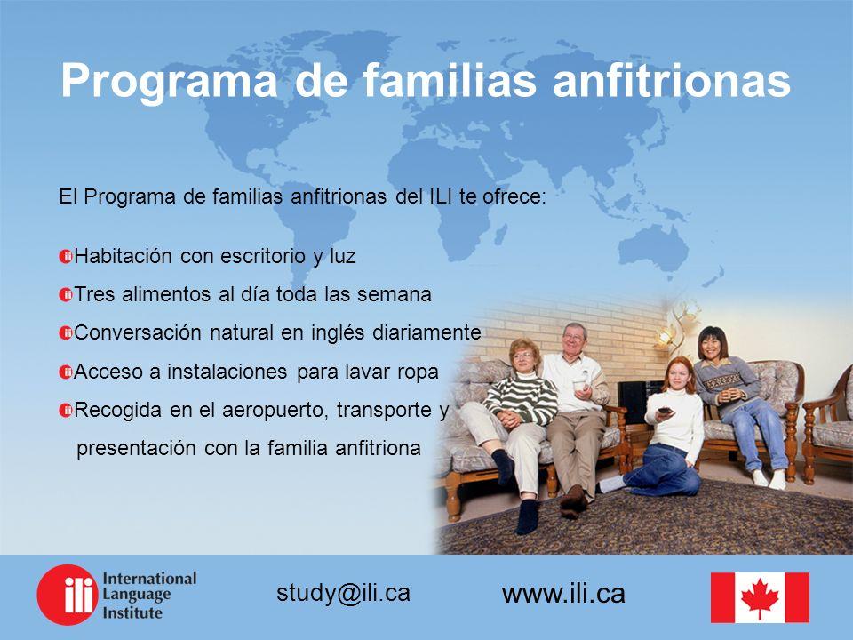 Programa de familias anfitrionas