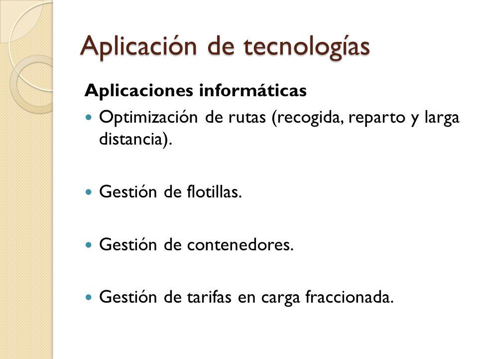 Aplicación de tecnologías