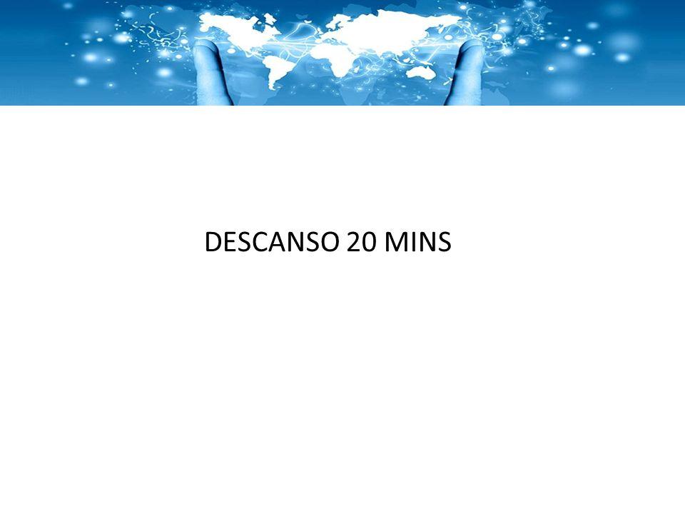 DESCANSO 20 MINS