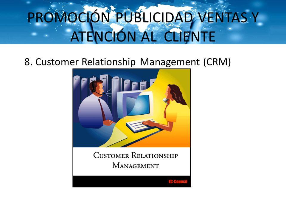 PROMOCIÓN PUBLICIDAD VENTAS Y ATENCIÓN AL CLIENTE