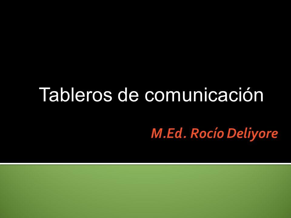 Tableros de comunicación