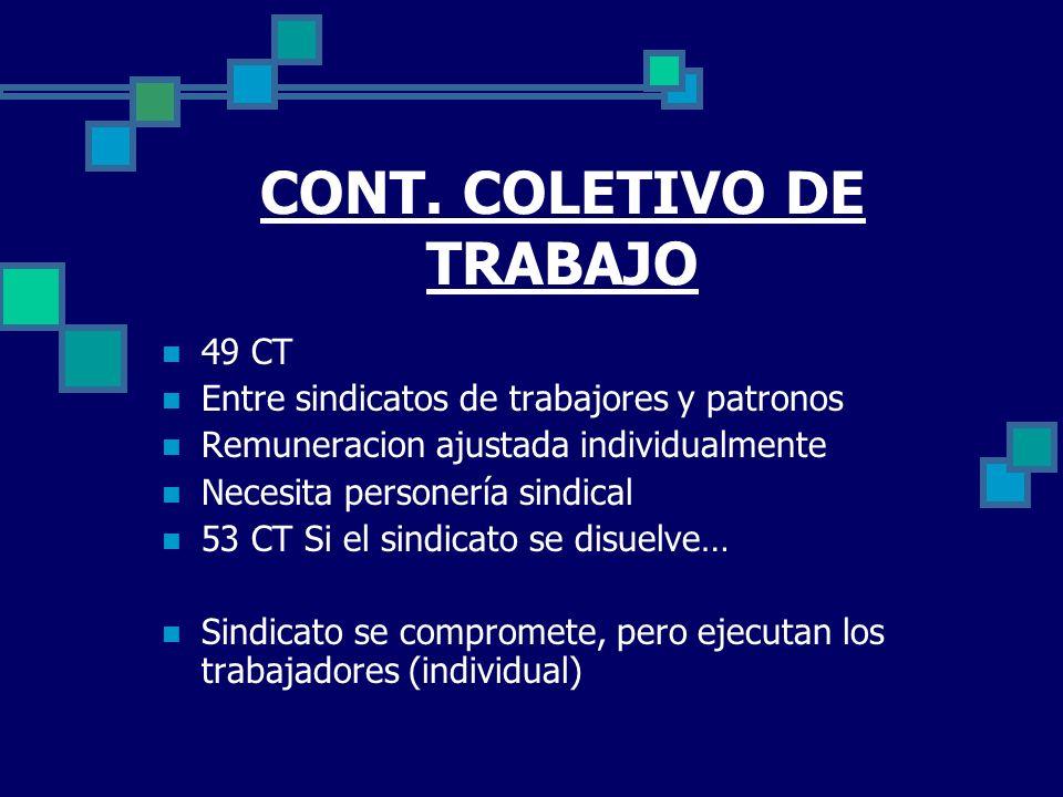 CONT. COLETIVO DE TRABAJO