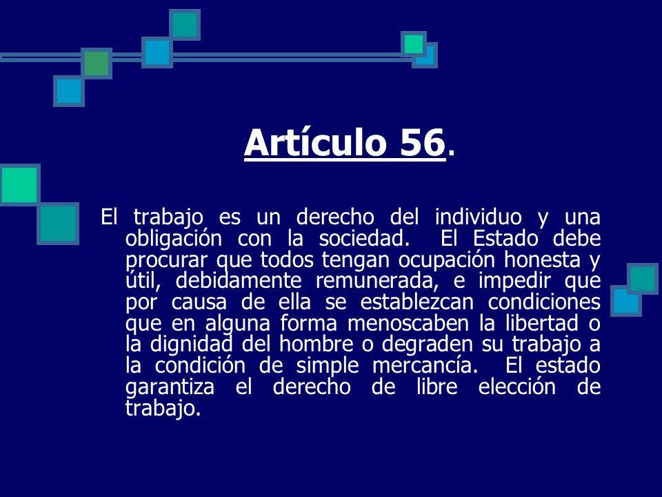Artículo 56.