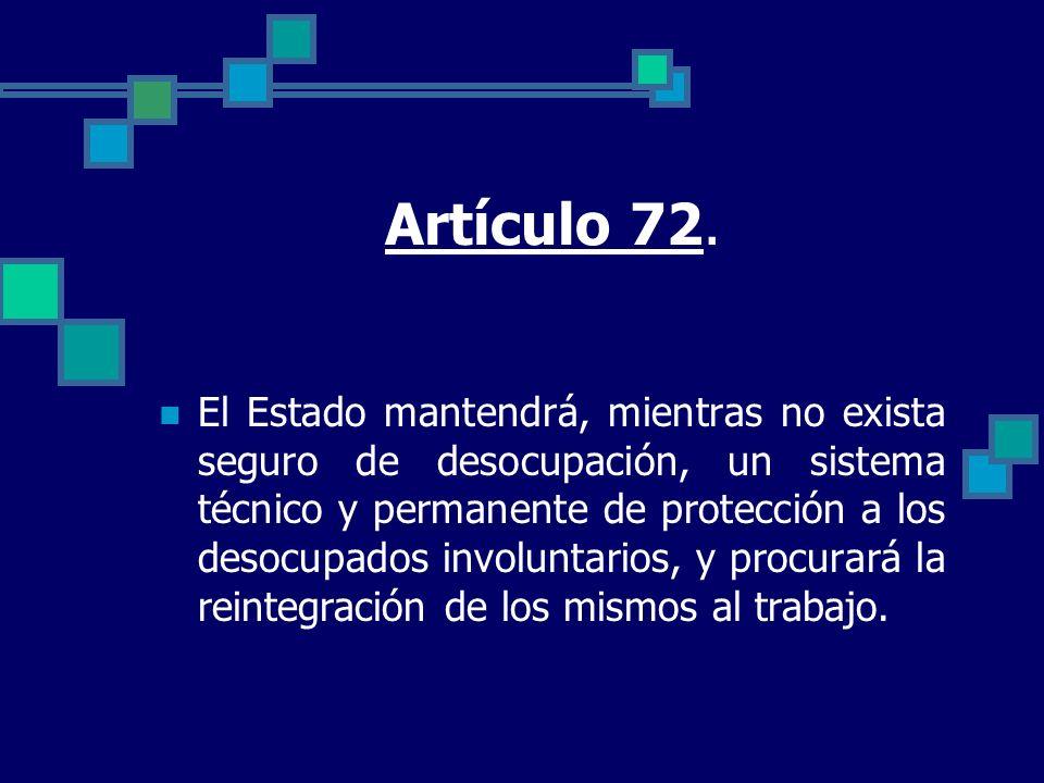 Artículo 72.