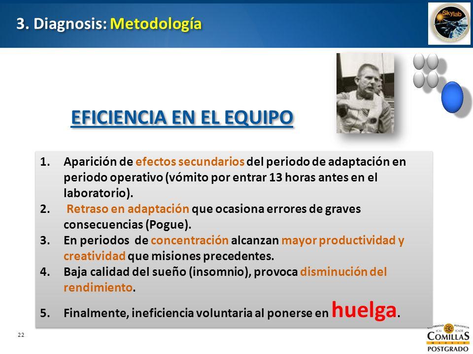 3. Diagnosis: Metodología