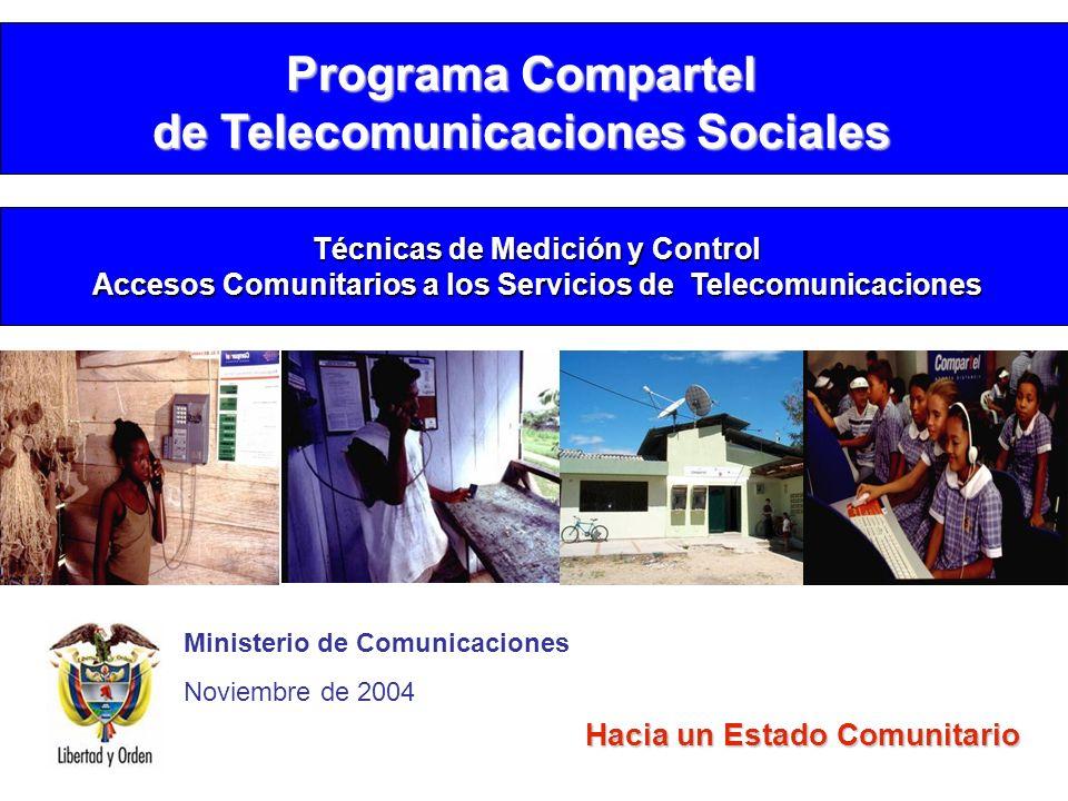 Programa Compartel de Telecomunicaciones Sociales