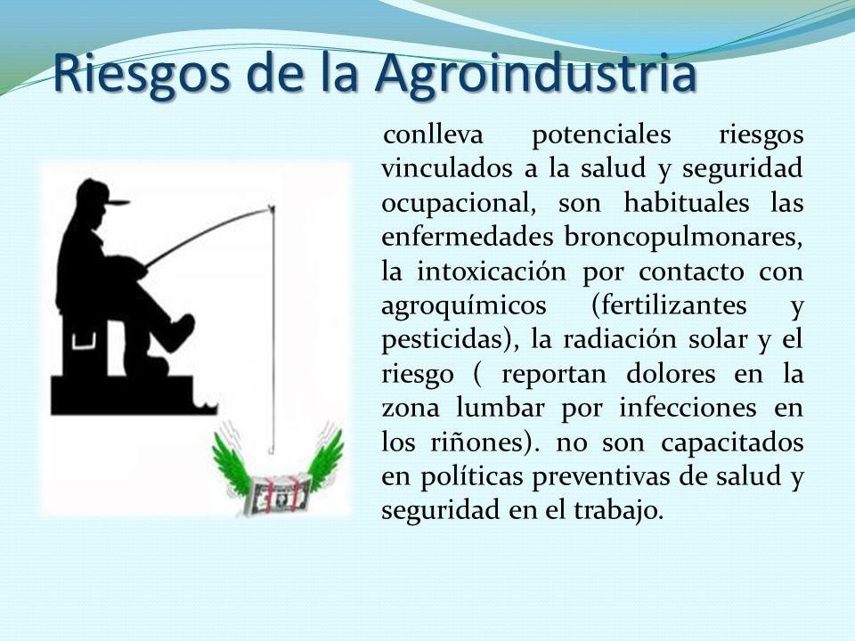 Riesgos de la Agroindustria