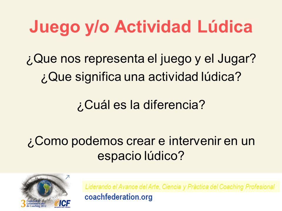Juego y/o Actividad Lúdica