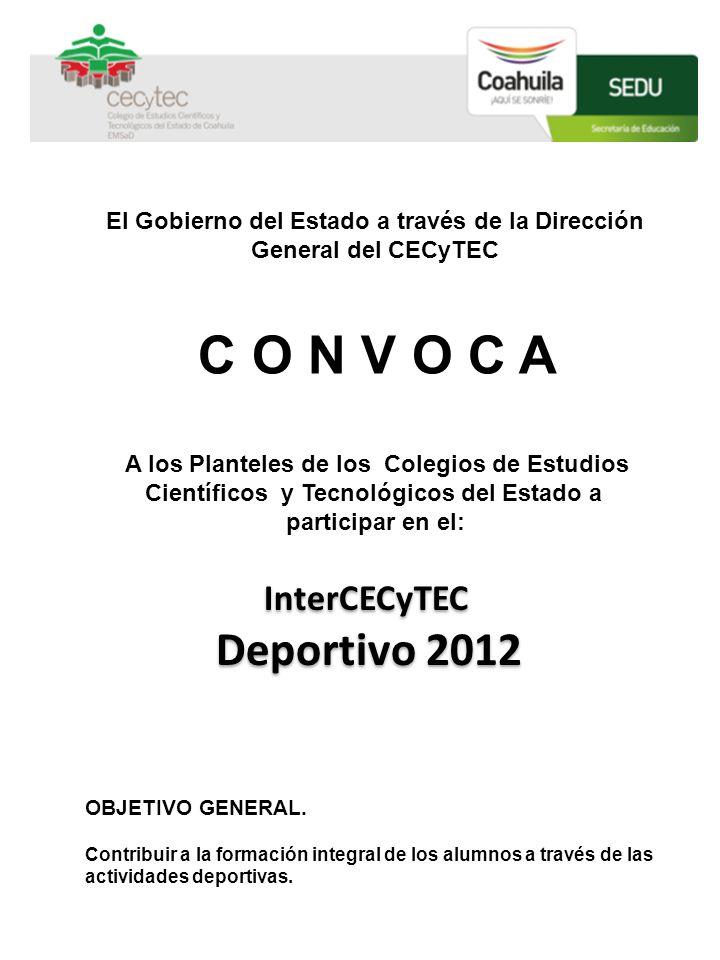 El Gobierno del Estado a través de la Dirección General del CECyTEC