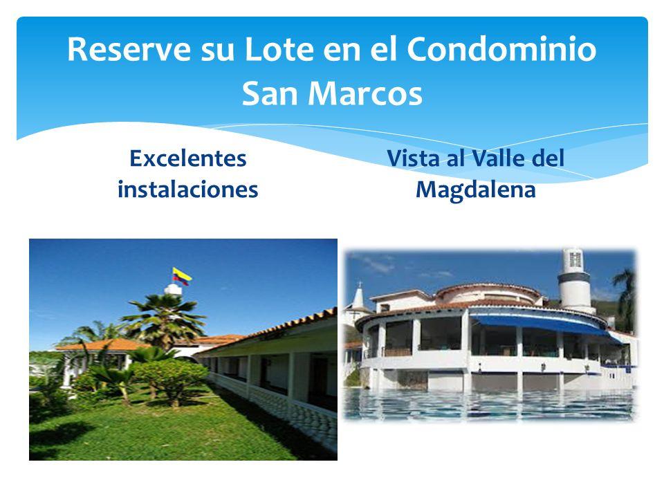 Reserve su Lote en el Condominio San Marcos