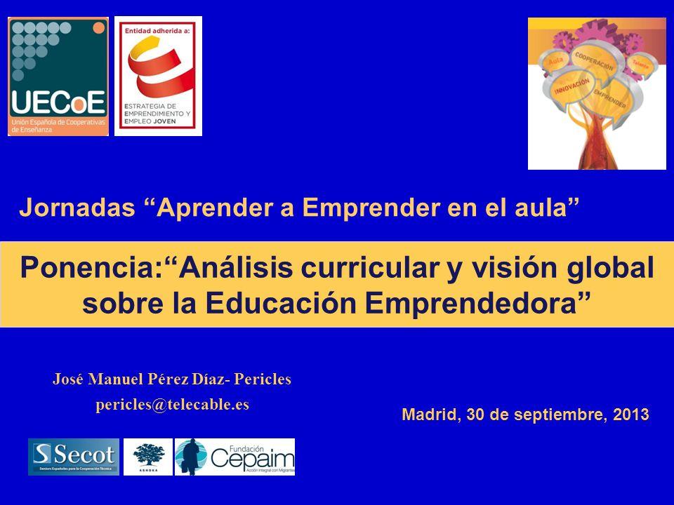 Ponencia: Análisis curricular y visión global