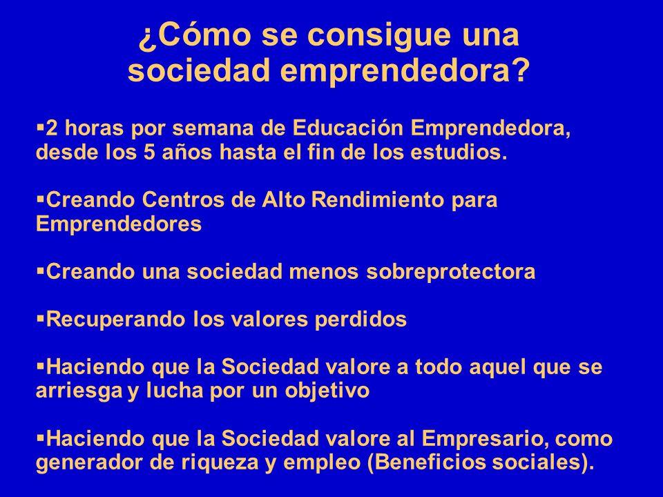 sociedad emprendedora