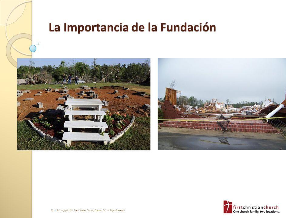 La Importancia de la Fundación