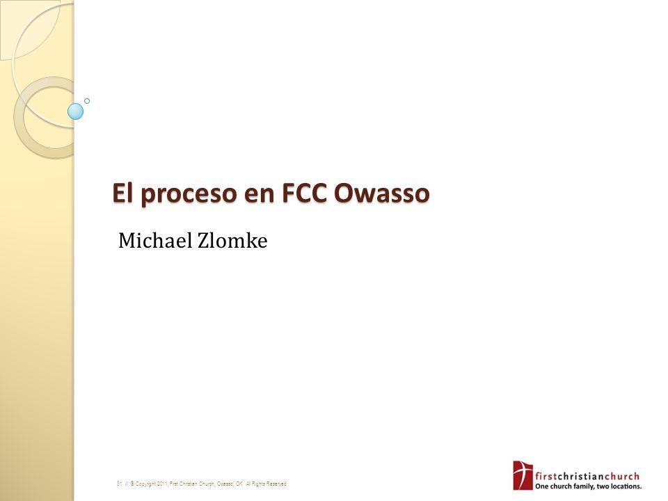 El proceso en FCC Owasso