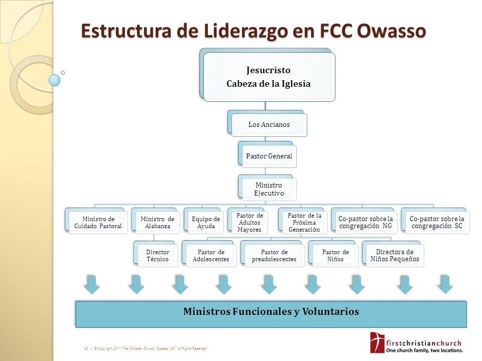Estructura de Liderazgo en FCC Owasso