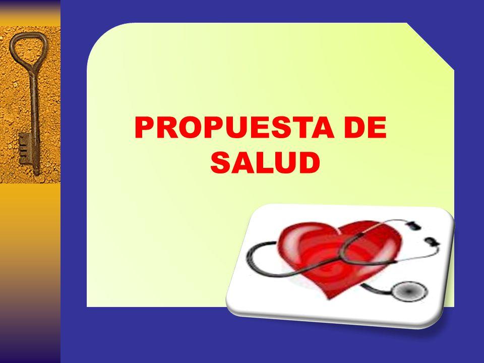 PROPUESTA DE SALUD