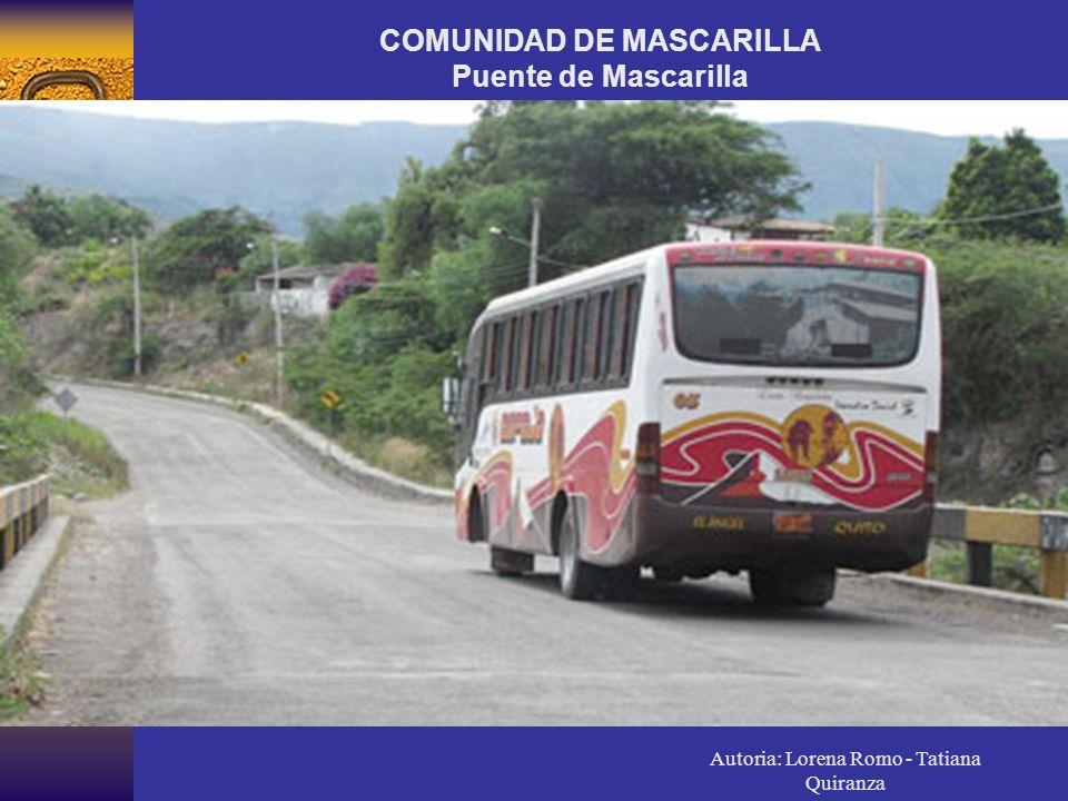 COMUNIDAD DE MASCARILLA Puente de Mascarilla
