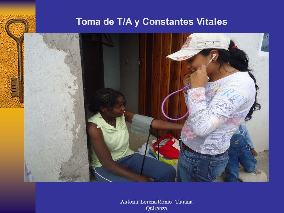 Autoria: Lorena Romo - Tatiana Quiranza
