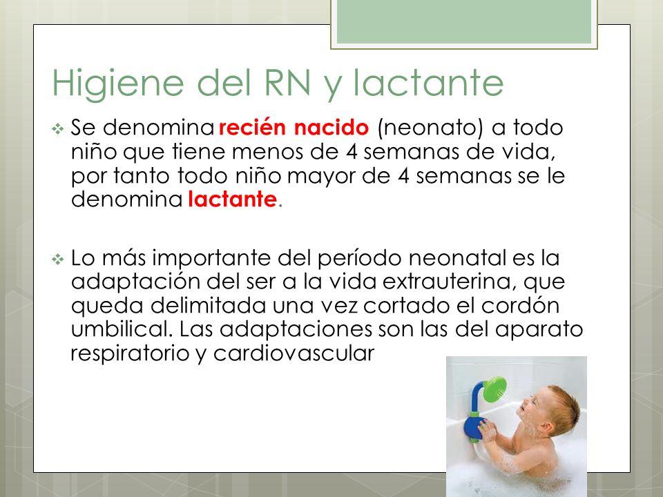 Higiene del RN y lactante