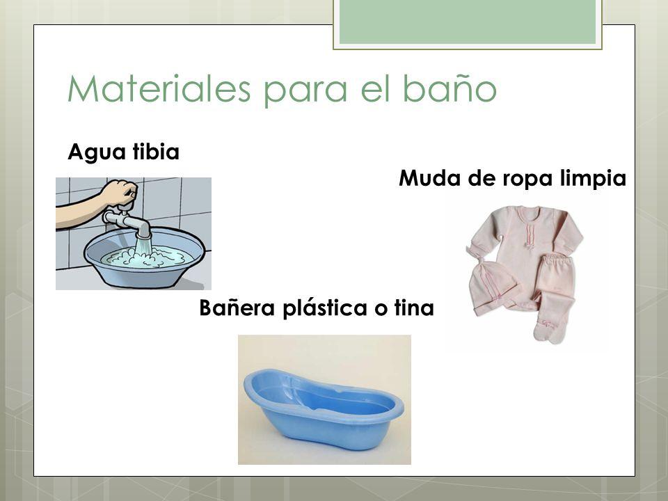 Materiales para el baño