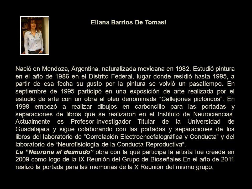 Nació en Mendoza, Argentina, naturalizada mexicana en 1982
