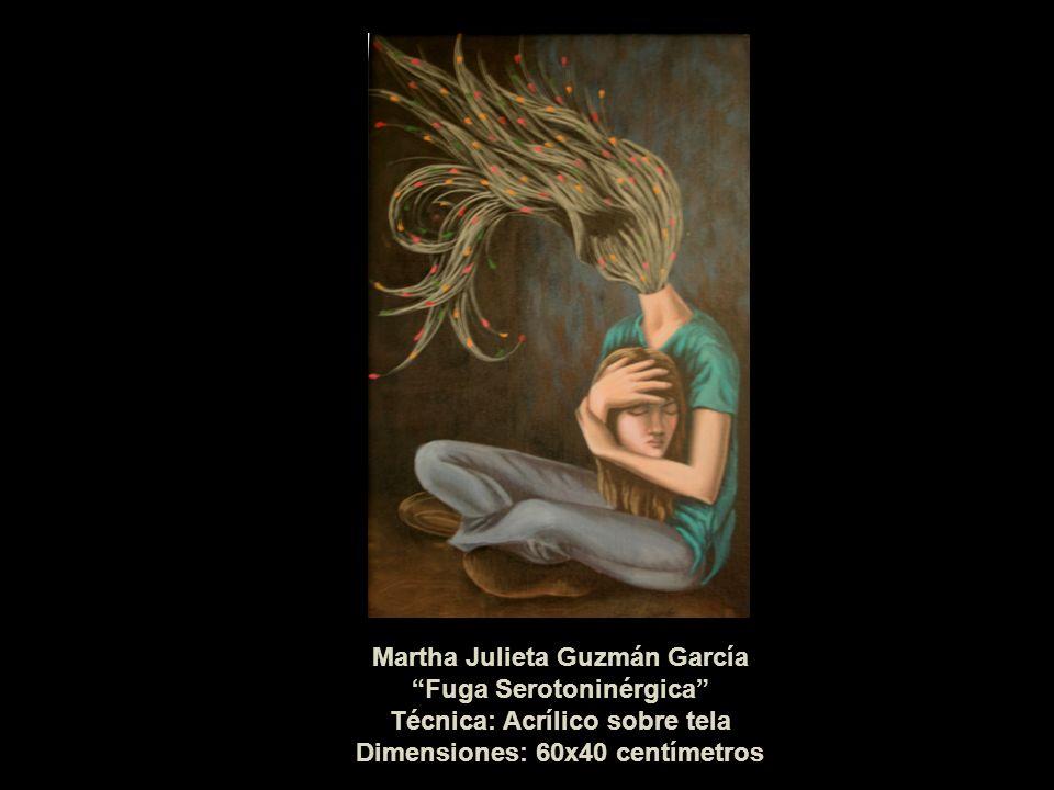 Martha Julieta Guzmán García Fuga Serotoninérgica