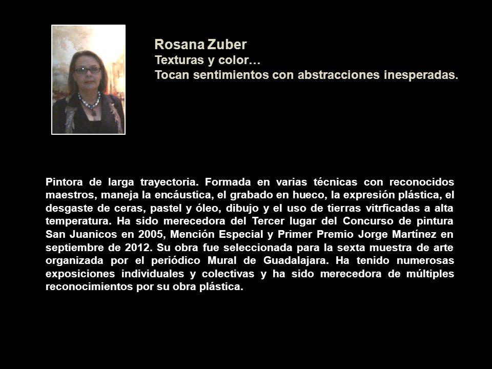 Rosana Zuber Texturas y color…