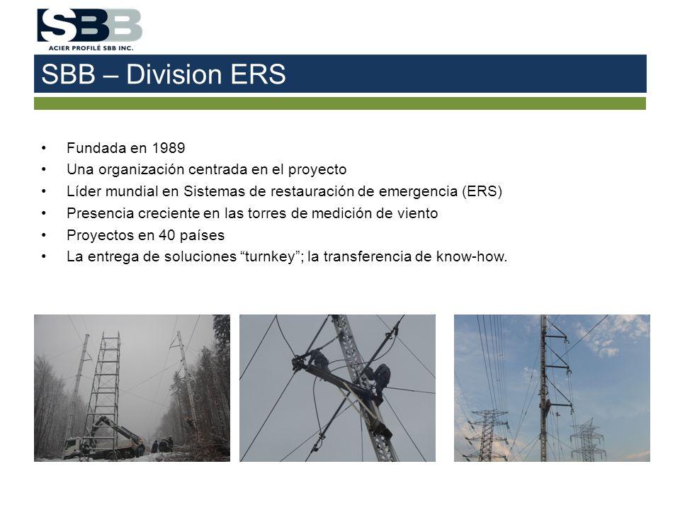SBB – Division ERS Fundada en 1989
