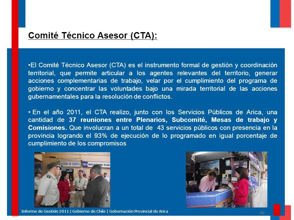 Comité Técnico Asesor (CTA):