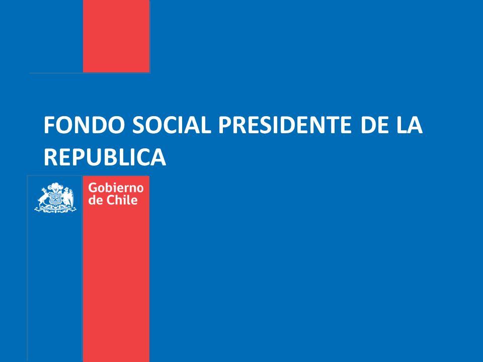 FONDO SOCIAL PRESIDENTE DE LA REPUBLICA