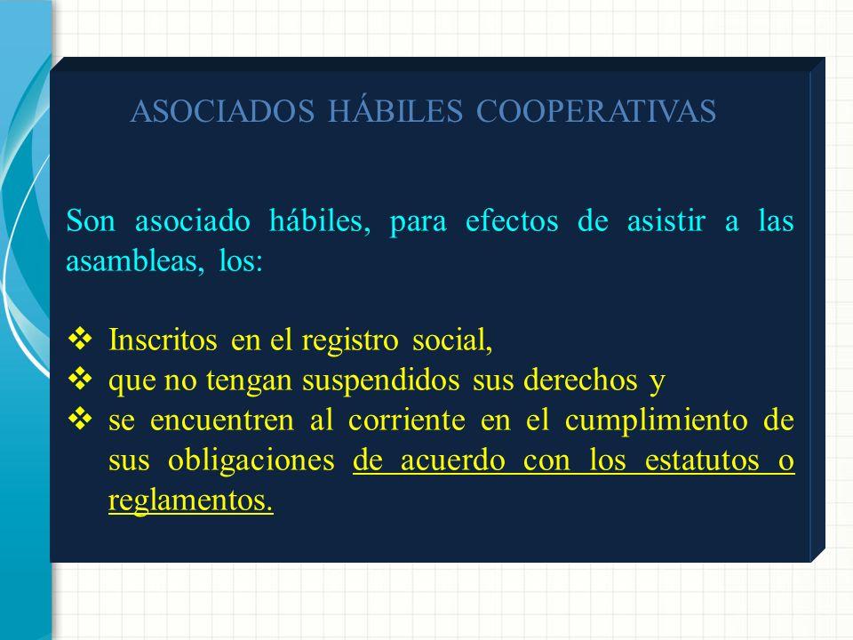 ASOCIADOS HÁBILES COOPERATIVAS