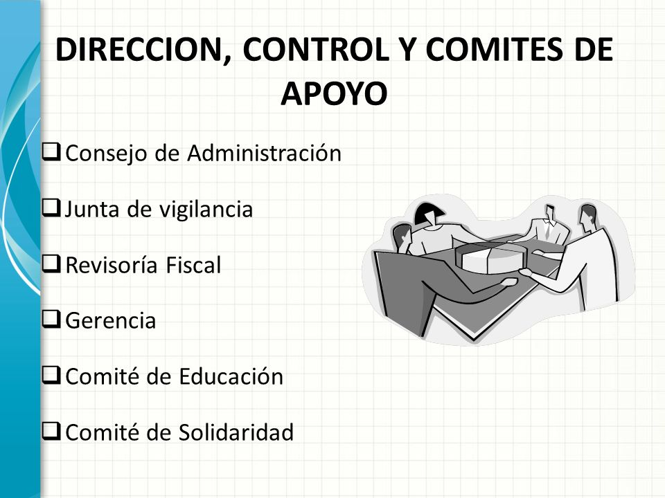 DIRECCION, CONTROL Y COMITES DE APOYO