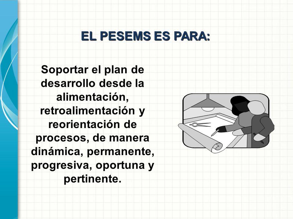 EL PESEMS ES PARA: