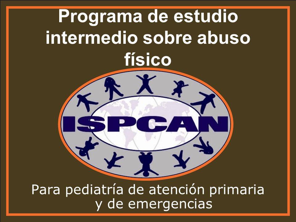 Programa de estudio intermedio sobre abuso físico
