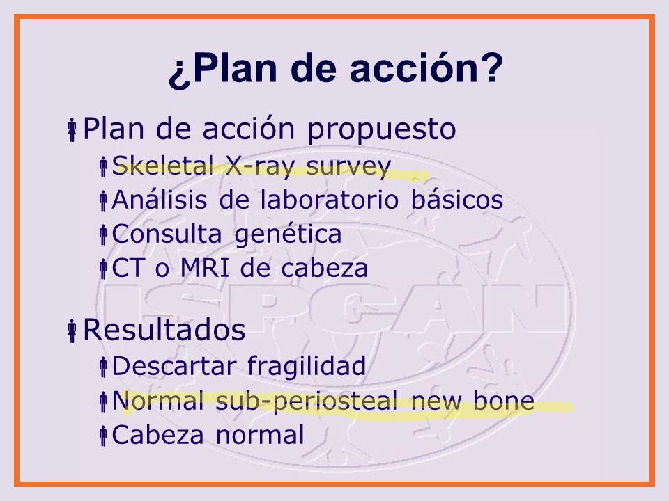 ¿Plan de acción Plan de acción propuesto Resultados