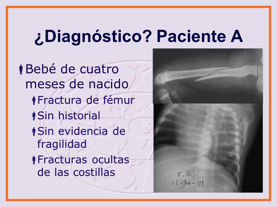 ¿Diagnóstico Paciente A