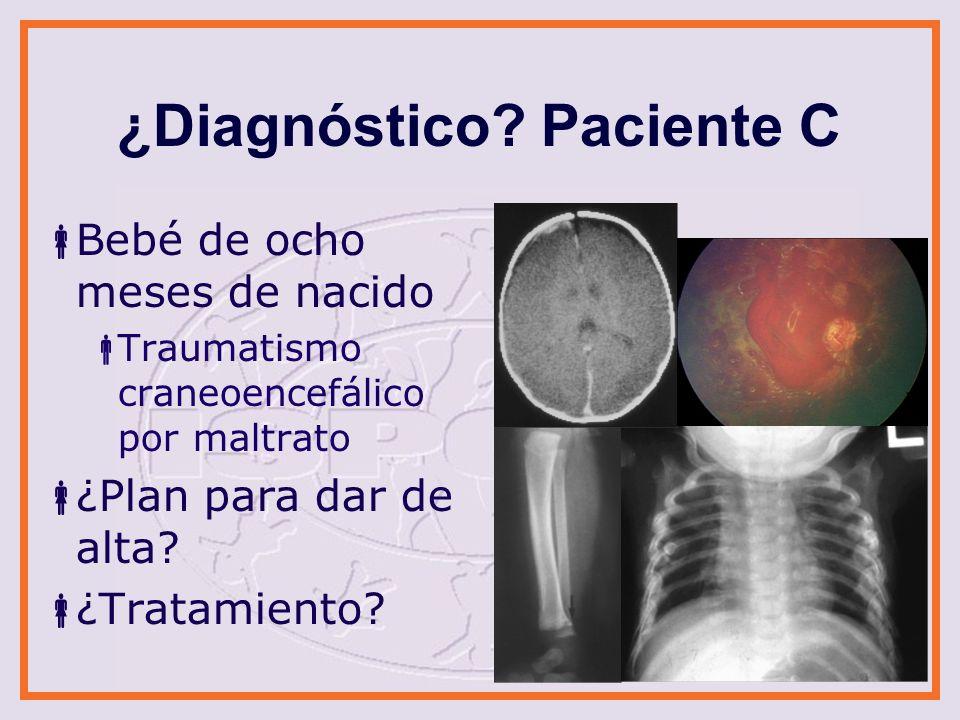 ¿Diagnóstico Paciente C