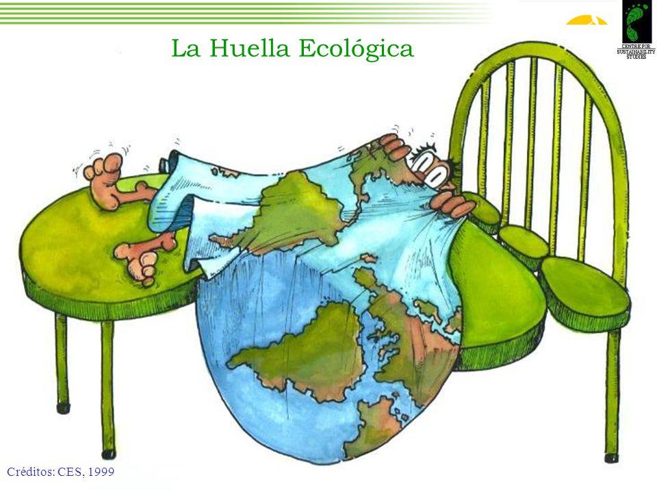 La Huella Ecológica Créditos: CES, 1999 Créditos: CES, 1999